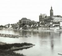 Malbork odbudowa zamku 1887rok